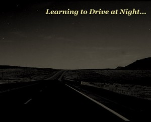 learning to drive at night cover